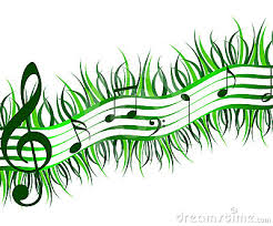 music notes - spring